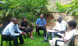 Workshop for EIA communication strategy in Burundi