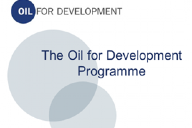 oil for development programme