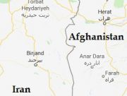 iran afghanistan map