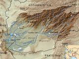 iran afghanistan kaart