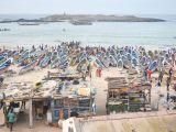 Fishing boats in Yoff, Dakar, jbdodane